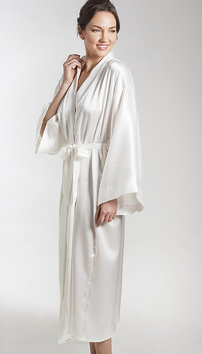 Pure Silk Kimono Style Robes Made In England
